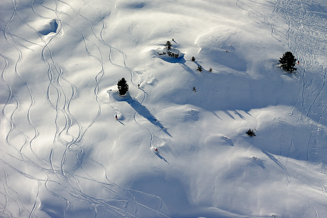 Blanc hivernal by Flickr user Tourisme Grand Tourmalet