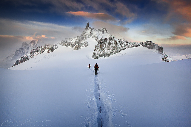 Glacier Trek by Charlie Stinchcomb CC BY 2.0