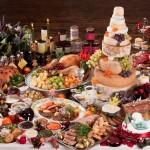 Colossal christmas meal
