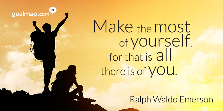 Motivational quote Ralph Walderson