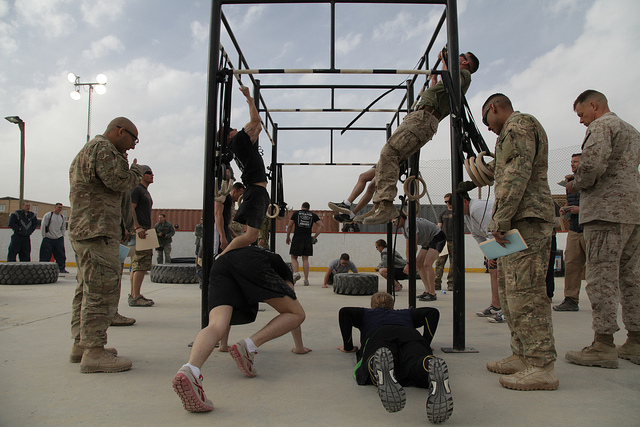 The Kandahar CrossFit Hero WOD