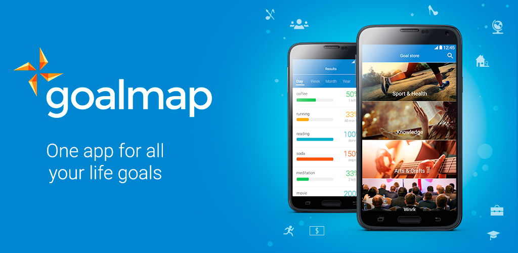 Appli goalmap gratuite pour gérer tous ses objectifs de vie