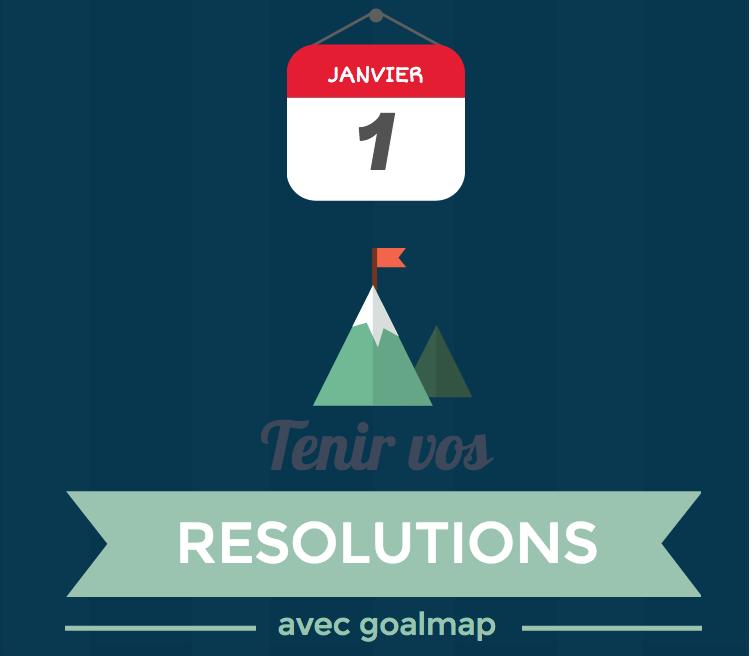 Tenir ses résolutions avec goalmap