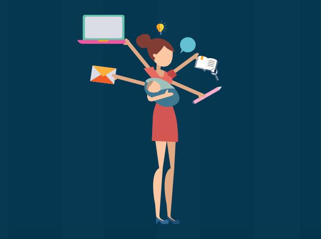 Infographie multitasking