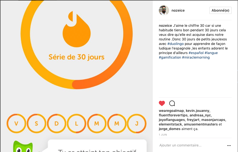 Objectif: apprendre l'espagnol avec Duolingo