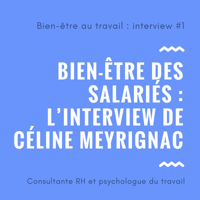 bien-être des salariés interview