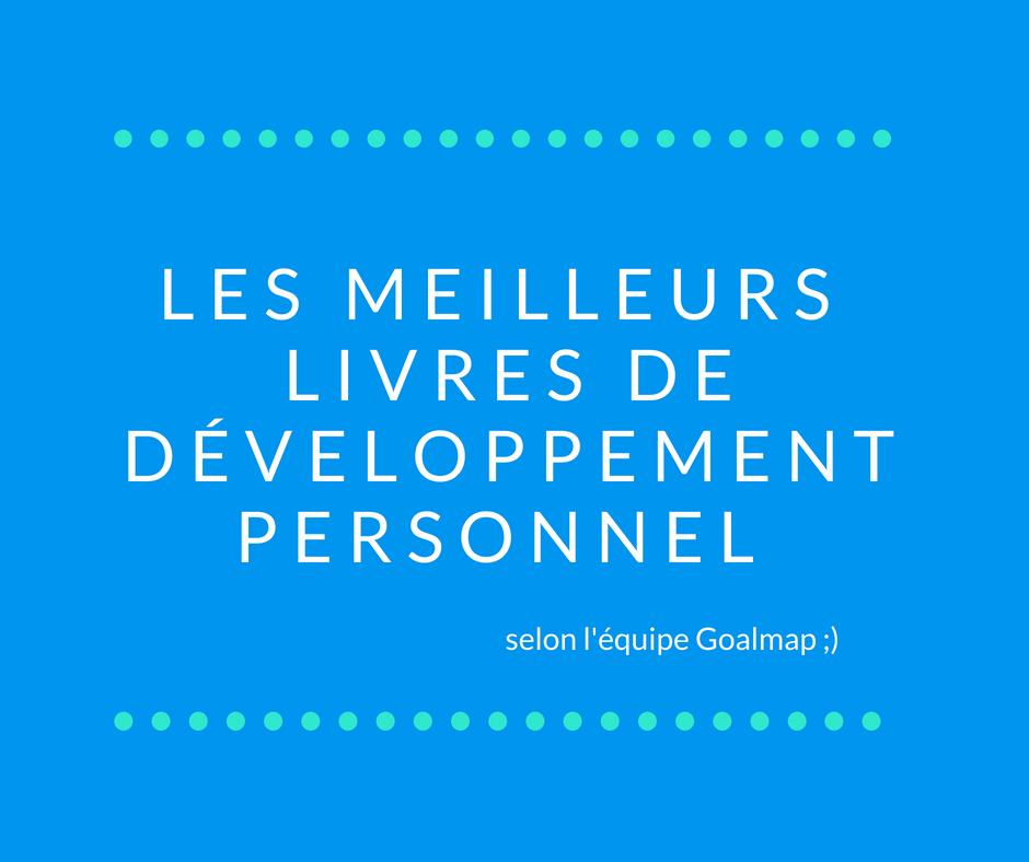 Sélection livres développement personnel