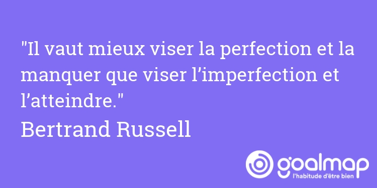 Citation bertrand russell perfection