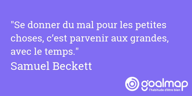 Citation samuel beckett